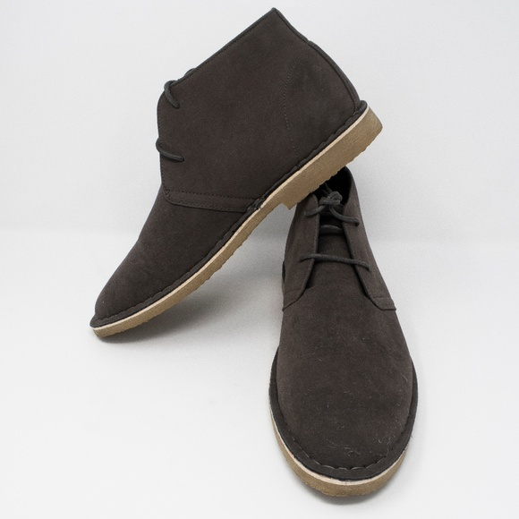 9e3b5b21c25b6c ASOS Shoes | Mens Desert Boots Suede Grey Size 8 M Us | Poshmark